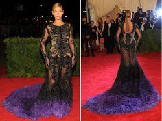 Beyonce Met Gala 2012 Best Dramatic Gowns Fashion 03