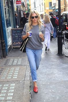 Step out in style with Gucci loafers like Sienna Miller