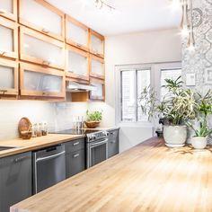 Turgeon project reveal - VALÉRIE DE L'ÉTOILE INTERIOR DESIGNER Designer, Kitchen Cabinets, Home Decor, Decoration Home, Room Decor, Cabinets, Home Interior Design, Dressers, Home Decoration