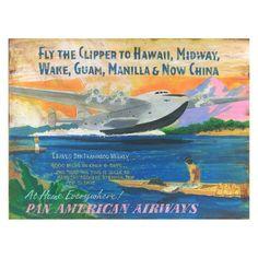 Flying Clipper Wall Art - PP-946