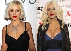 Celebrity Christina Aguilera Plastic Surgery Golden Globes - http://plasticsurger.com/celebrity-christina-aguilera-plastic-surgery-golden-globes/