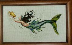 Mirabilia Mediterranean Mermaid counted cross stitch pattern new chart in Crafts, Needlecrafts & Yarn, Cross Stitch & Hardanger | eBay