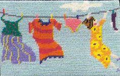 Buttoned Up - Needlepoint Kits Needlepoint Kit Victoria Canada