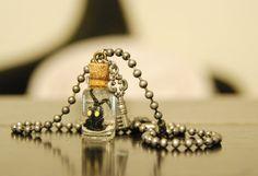 Kingdom Hearts Inspired Heartless Necklace by GeekJewelryEtc, $27.00