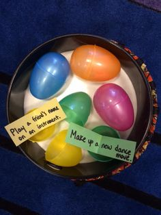5 Egg-themed interventions for Easter/Springtime. Includes a singable book, easy visuals and ideas for groups.
