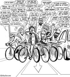Bike Jam ---- what a wonderful sight