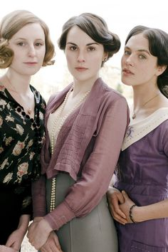 Sisters - Downton Abbey