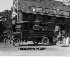 Ford Truck Texaco Fill Up General Store 1920s. 8x10 photo print. $12.95.