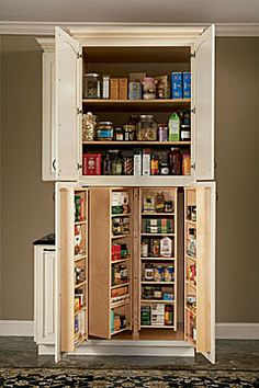 Best Pantries On Pinterest Pantry Cabinets Pantries And 400 x 300