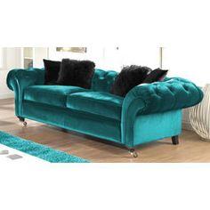 tufted velvet sofa