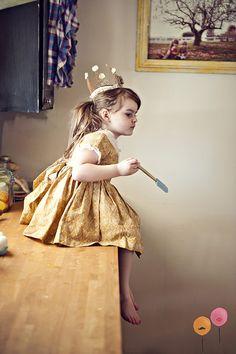 princess in the kitchen : sassyfras studios