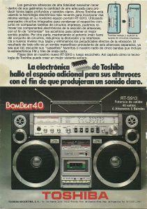 Publicidad Toshiba Bombeat 400001