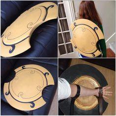 Pyrrha Nikos shield Akouo by mechaboy07.deviantart.com on @DeviantArt
