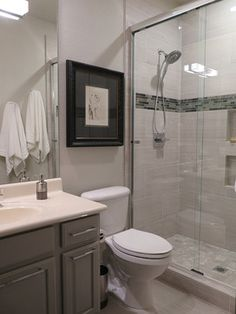 crystal contemporary remodel - contemporary - Bathroom - Phoenix - harrison herbeck
