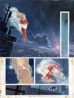 Daredevil: Love and war p.27 Comic Art