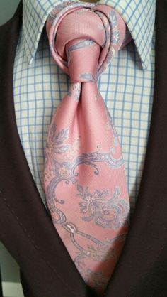 Paisley Posh II Necktie | The Corvan Collection | See more about The Knot…