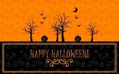 Happy Halloween - 3D and CG Wallpaper ID 1857436 - Desktop Nexus Abstract
