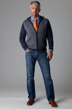 Claiborne Sportshirt And Straight Jeans Men S Must Haves Older