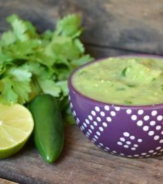 Avocado Salsa - Avocado and tomatillo pair perfectly in this creamy and addicting salsa.