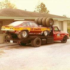 Nhra Drag Racing, Auto Racing, Toy Hauler Trailers, Speed Racer, Old Race Cars, Transporter, Vintage Race Car, Drag Cars, Commercial Vehicle