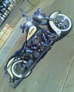 My first Harley Cool Motorcycles, Custom Bikes, Helmets, Biking, Cali, Harley Davidson, Culture, Classic, Life