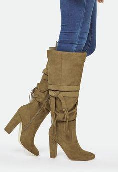 Maisie Schuhe in Olive - günstig kaufen bei JustFab