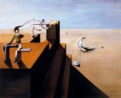 FRANCES Esteban - composition surrealiste - 1934