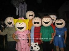 Coolest Homemade Charlie Brown and the Gang Costumes 13
