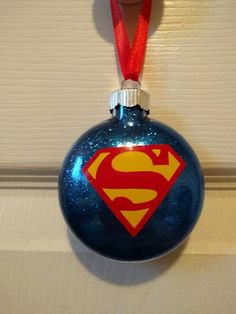 Superman Christmas Ornament by ColoCustomCreations on Etsy