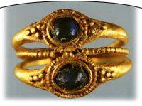 Anatolia-Konya Ring double stone The Roman period