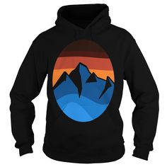 Do you love mountain sunset logo