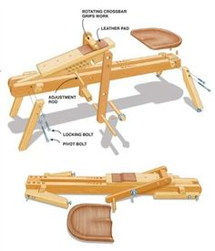 Portable Shaving Horse - Woodworking Shop - American Woodworker