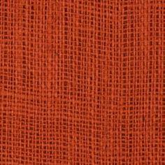 Burnt Sienna #Burlap #Fabric