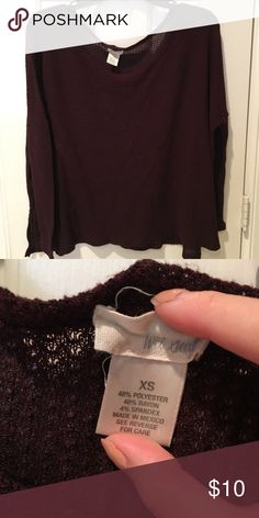 Wet seal sweater Lightweight  Kind of see through Wet Seal Sweaters