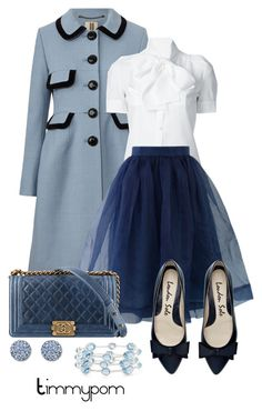 """""""I love this skirt!!!"""" by timmypom ❤ liked on Polyvore featuring Orla Kiely, Dsquared2, Chicwish, Swarovski, Ippolita, simpleoutfit, skirts and simpleset"""