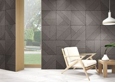 "Tangram Skin Black design by Realonda · Visual Perception · "" Combination of Geometries "" · Porcelain Tile 44x44 cm · Cersaie Trends 2017 / 2018 #realonda #new #shapes #trendy #interiordesign #deco #inspiration #porcelain #ceramic #tiles #ihavethisthingwithwalls #ihavethisthingwhithtiles #instagoods"
