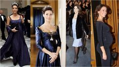 Princess Marie of Denmark's  maternity style