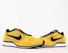 Nike Flyknit Racer – Yellow/Black | Available Now