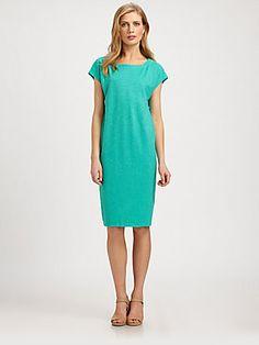 Eileen Fisher Hemp & Cotton Dress
