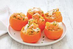Tartare di salmone, finocchio e mandarino ricetta