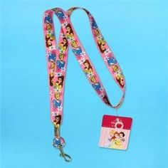 Disney Princess Lanyard by Disney. $2.43. This is a really great and fun product - a Disney Princess lanyard with Belle and Cinderella. Great for the princess in all of us.