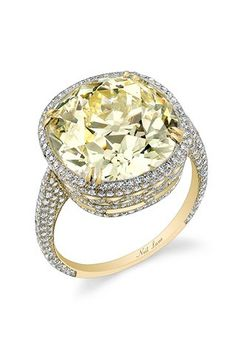 Yellow Diamond Engagement Rings | Brides.com