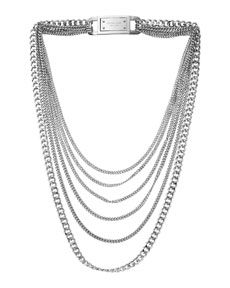 #Michael Kors #necklace #silver