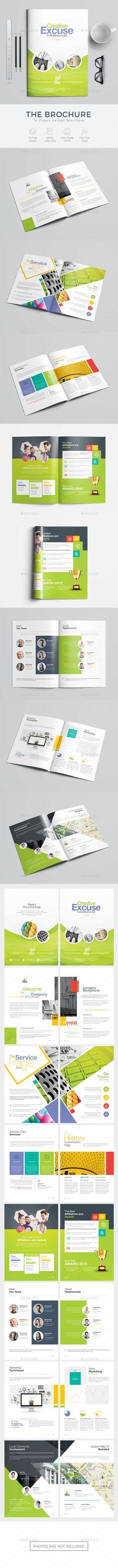 Brochure Template PSD - Download: https://graphicriver.net/item/brochure/21754495?ref=ksioks