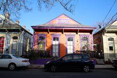 NOLA, faubourg Marigny www.vagabonderie.com