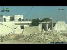 Guerra na Síria - Tour pelas fazendas al-Malaah l 1.07.2016