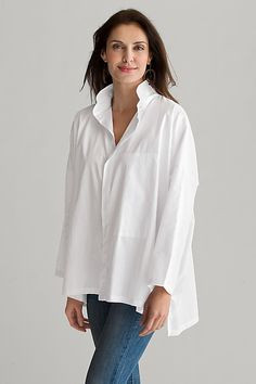Signature Shirt: Planet: Cotton Woven Shirt | Artful Home