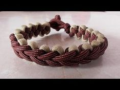 "Make the ""Mated Snake"" Paracord Survival Bracelet - Bored Paracord - YouTube"