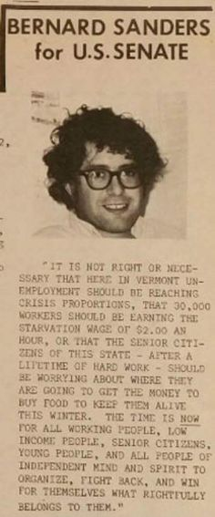 This is Bernie Sanders platform in 1974. Official proof that not every politician flip flops on the issues.  #BernieOrBust #Bernie2016