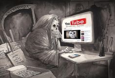 Death On YouTube, David Rowe, Australian Financial Review